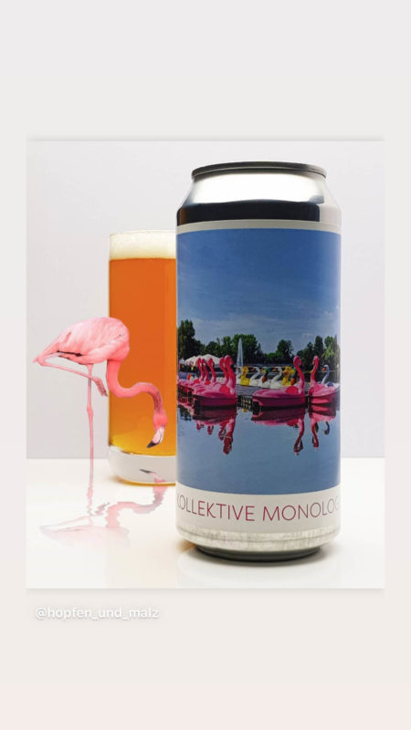 Blechbru Kollektive Monologe Tasting IPA