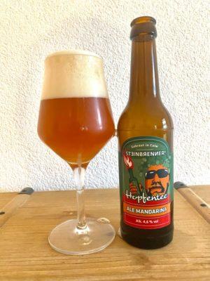 Tasting Steinbrenners Hopfentee Ale Mandarina