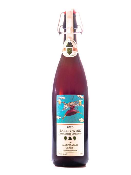 Hopfenhäcker 2020 Barley Wine im Madeirafass gereift