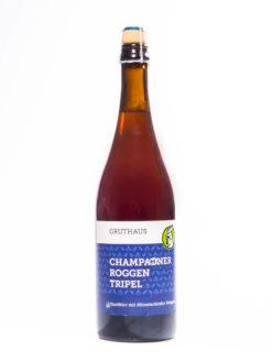 Gruthaus Champagner Roggen Tripel