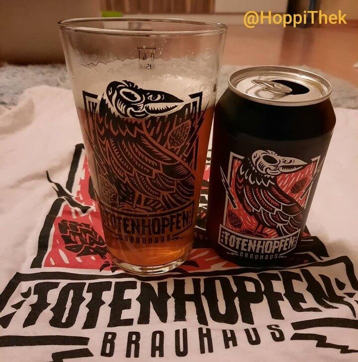 Craft Beer Tasting Totenhopfen Lux Ale