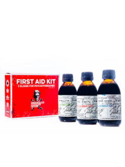 La Calavera First Aid Kit 3 Elexiers for Psychotherapies