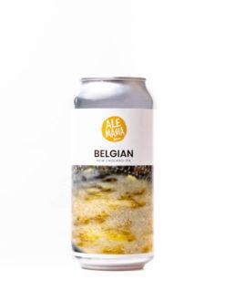 Ale-Mania Belgian New England IPA